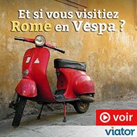 viator - Rome vespa