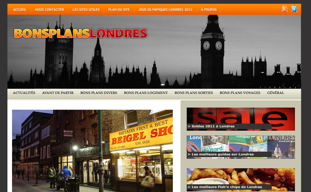 Les Bons Plans pour un voyage à Londres