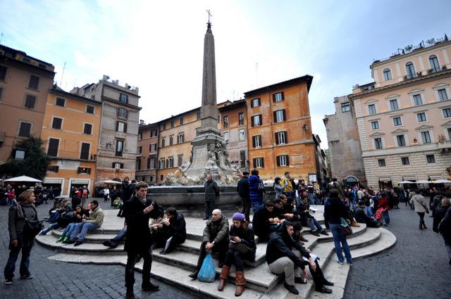 bons plans rome pantheon planning une semaine