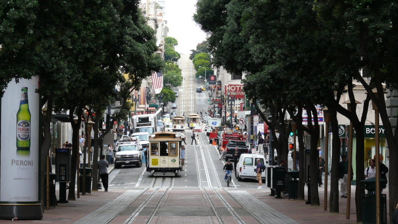 Faire un tour de Cable Car à San Francisco