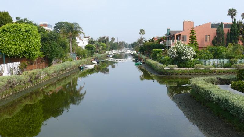 Découvrir le quartier d'habitation de Venice Beach (à Los Angeles)