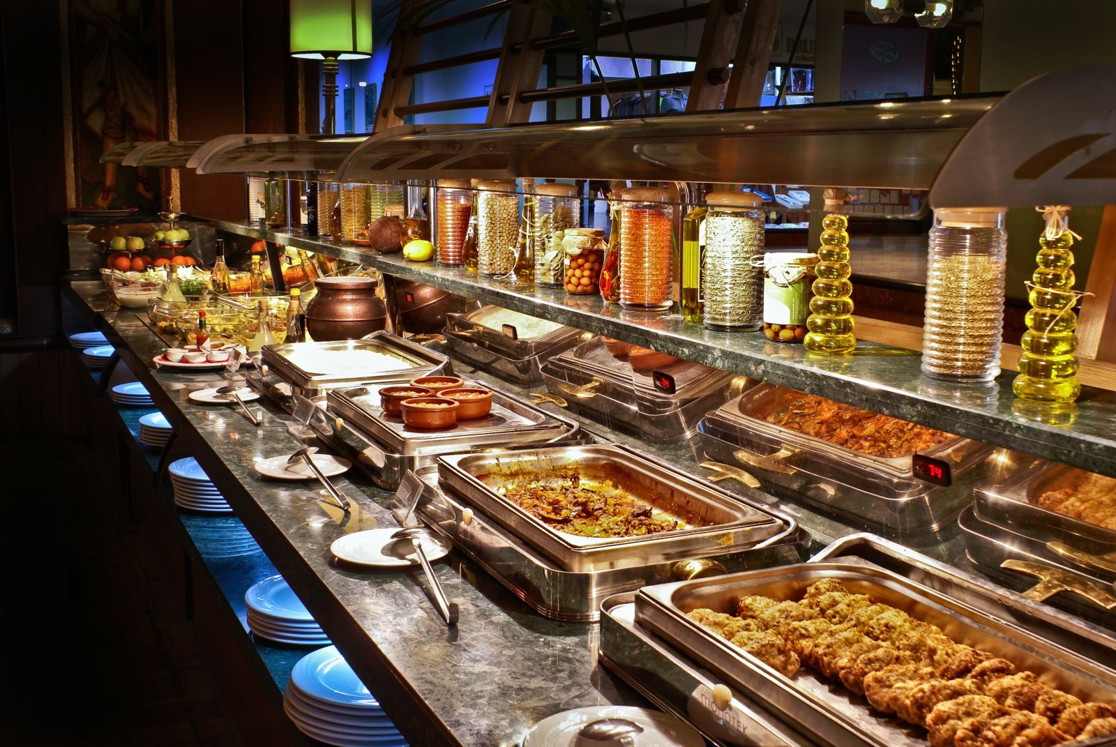 Manger à volonté à Las Vegas dans un restaurant «all-you-can-eat»