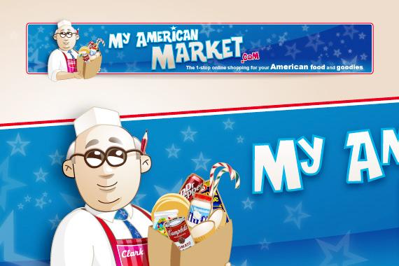L'épicerie alimentaire américaine en ligne : My American Market