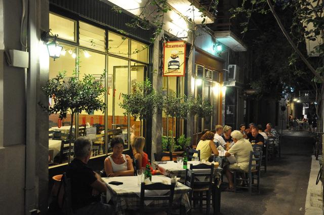Mezedopoleio O Noulis, le restaurant bon plan de Nauplie
