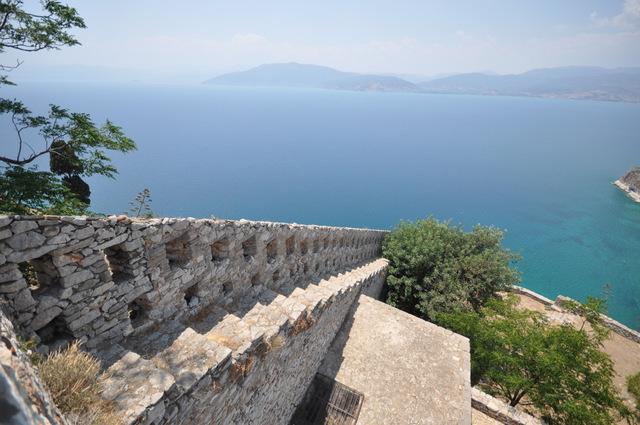 La forteresse de Palamède à Nauplie : ne la ratez pas!!!