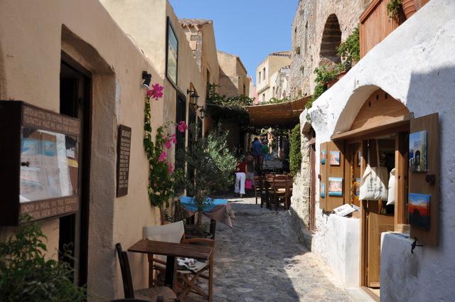 Visitez Monemvassia, la ville fortifiée du Péloponèse