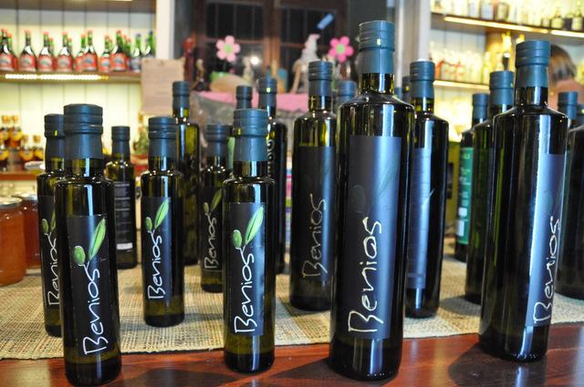 Achetez votre huile d'olive grecque chez Edodimopolio à Monemvassia