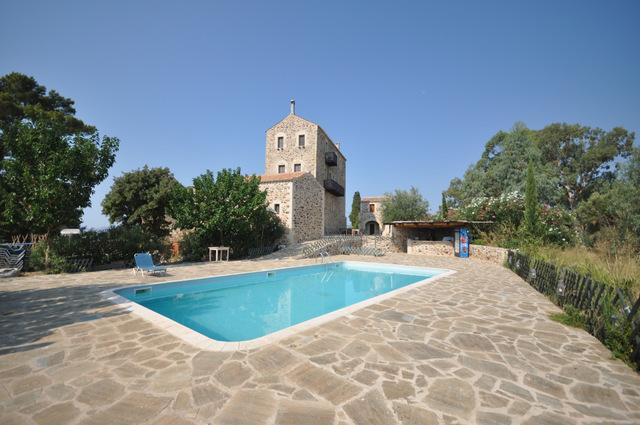 L'hôtel Petropolakis Gods' Land à Gythion : calme et agréable