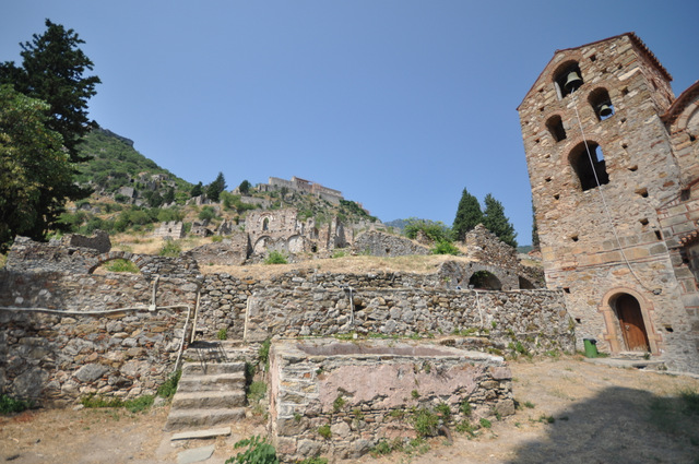 Visiter la cité byzantine de Mystra