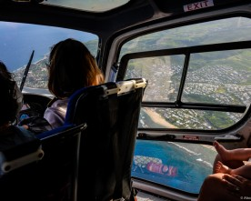 Faire un vol d'hélicoptère à la Réunion