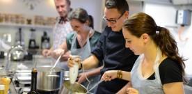 Cours de cuisine aux Apprentis Gourmets de Cannes