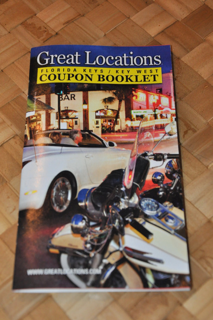 bons plans florida keys key west largo great locations coupon booklet