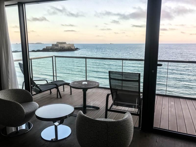 L 39 hotel oceania de saint malo un pur d lice les bons for Hotel saint malo jacuzzi chambre